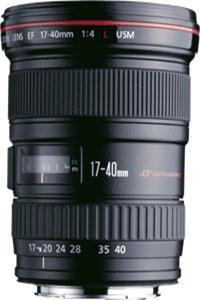 Canon Zoom objektiv  EF 17-40mm f/4 L USM