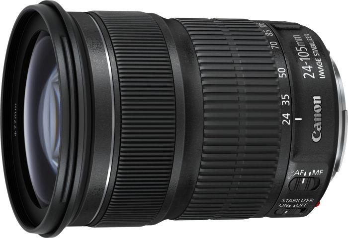 Canon Zoom objektiv EF 24-105mm f/3.5-5.6 IS STM
