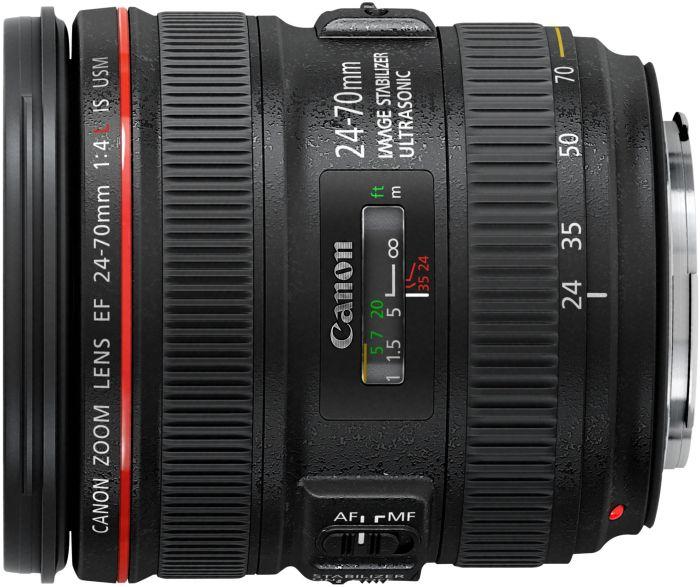 Canon Zoom objektiv EF 24-70mm f/4 L II USM