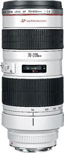 Canon Zoom objektiv 'EF 70-200mm f/2.8 L USM