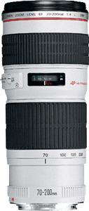 Canon Zoom objektiv 'EF 70-200mm f/4.0 L USM