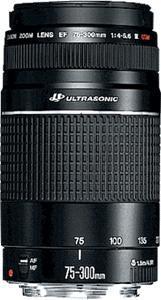 Canon Zoom objektiv EF 75-300mm f/4.0-5.6 III USM