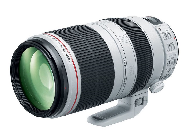 Canon Zoom obj EF100-400mmf/4.5-5.6 L IS II USM