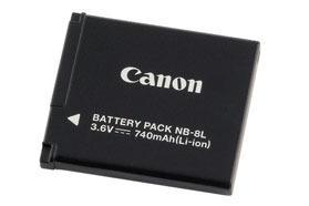 Canon akumulátor NB-8L