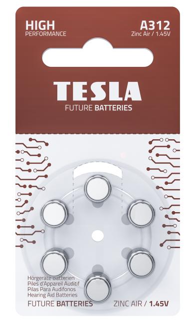 TESLA - baterie do naslouchadel A312 - 1099137260