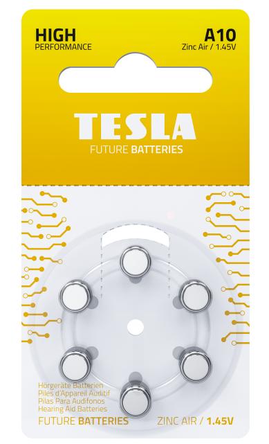 TESLA - baterie do naslouchadel A10 - 1099137257