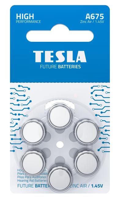 TESLA - baterie do naslouchadel A675 - 1099137258