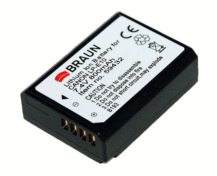 BRAUN akumulátor - CANON LP-E10