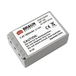 BRAUN akumulátor - CASIO NP-100
