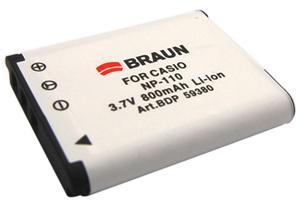 BRAUN akumulátor - CASIO NP-110
