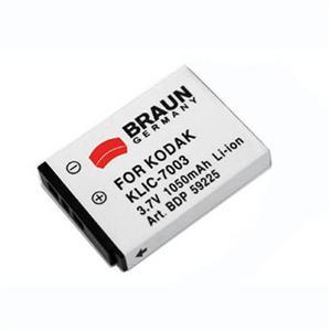 BRAUN akumulátor - KODAK Klic 7003