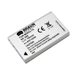 BRAUN akumulátor - MINOLTA NP-200