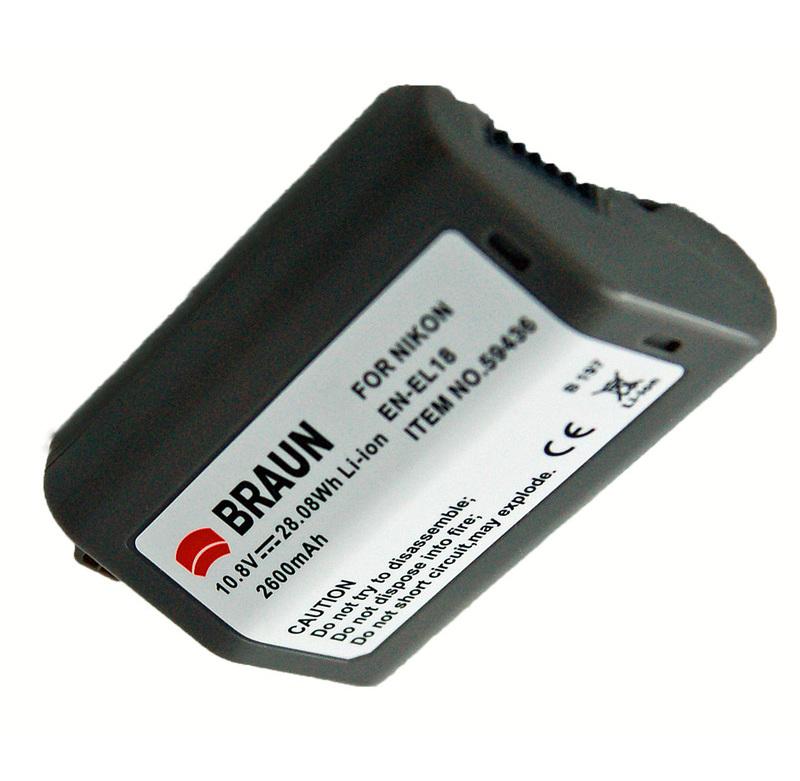 BRAUN akumulátor - NIKON EN-EL18