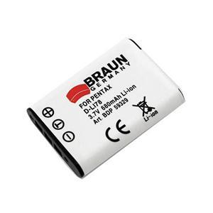 BRAUN akumulátor - PENTAX D-Li78 a další...