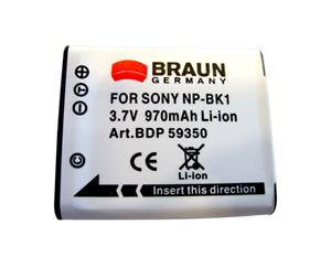 BRAUN akumulátor - SONY K NP-BK1