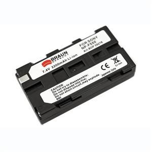 BRAUN akumulátor - SONY L NP-F550
