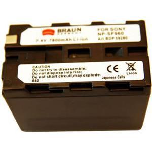 BRAUN akumulátor - SONY L NP-F930, 950, 960