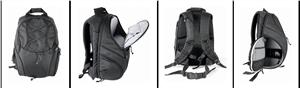 BRAUN batoh KENORA Backpack (30,5x18x46 cm, černý)