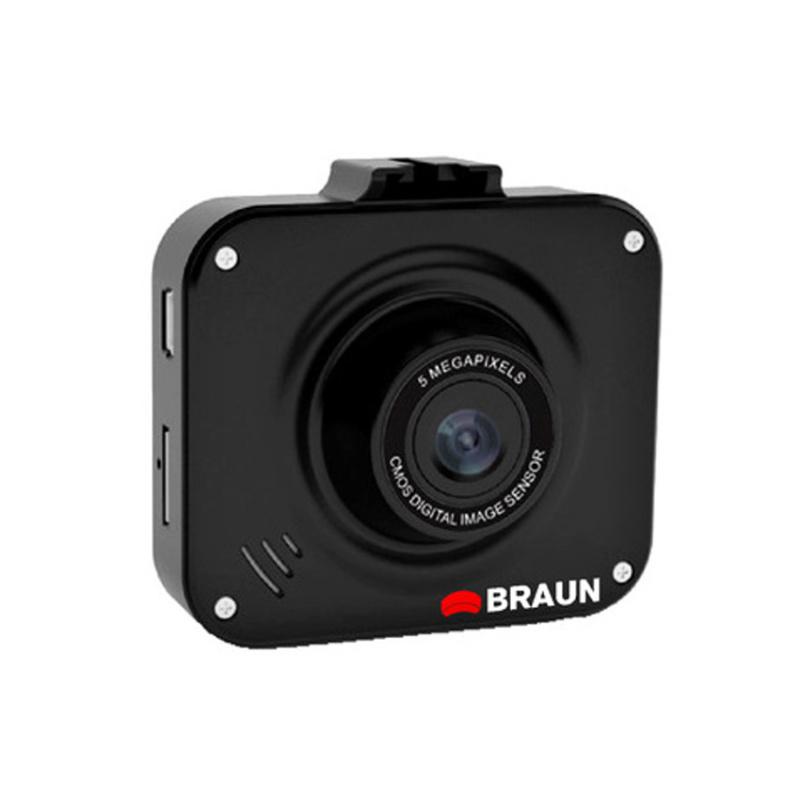 BRAUN B-BOX T4 kamera do auta (Full HD, velmi malá, objektiv Wide 120°, 2''LCD, G-sensor, Loop)