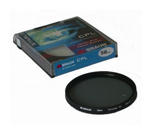 BRAUN C-PL polarizační filtr StarLine - 55 mm