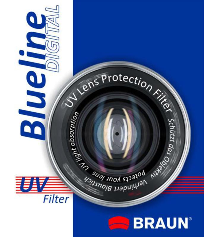 Braun UV BlueLine ochranný filtr 49 mm - 14154