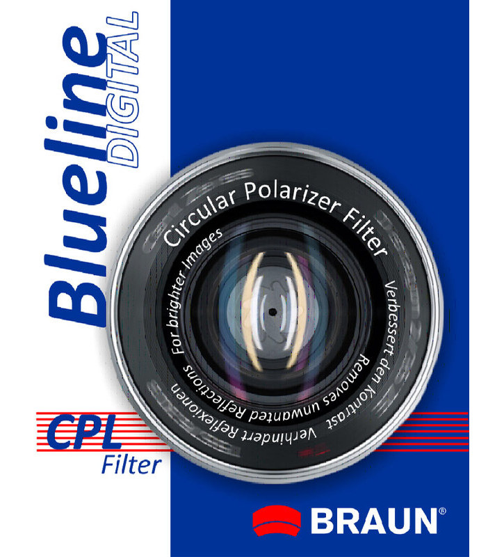BRAUN CP-L polarizační filtr BlueLine - 49 mm