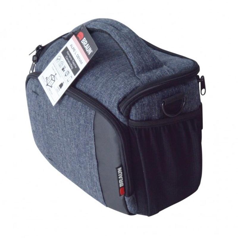 Braun ALPE L Denim taška