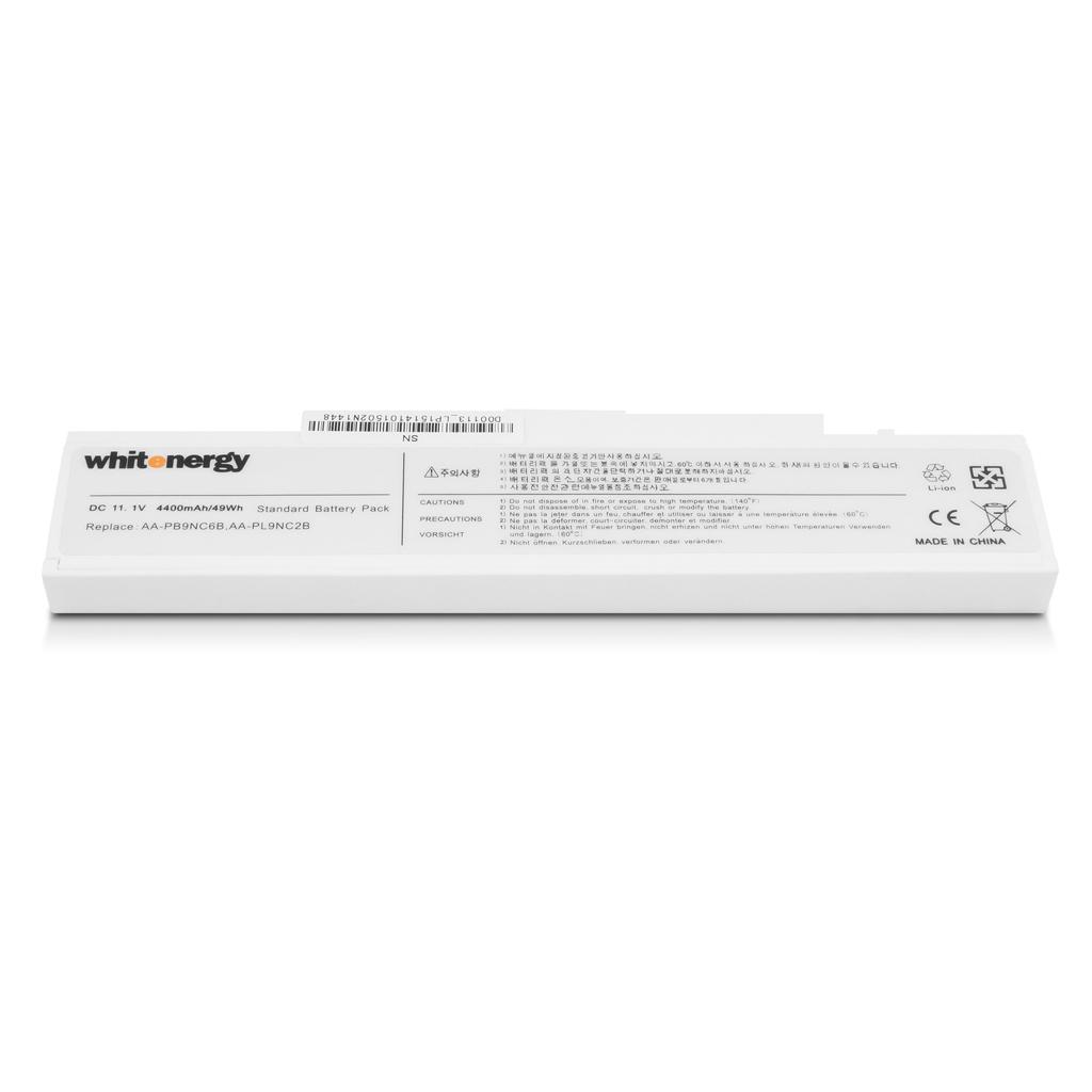 WHITENERGY - WE baterie Samsung R580 11.1V 4400mAh bílá