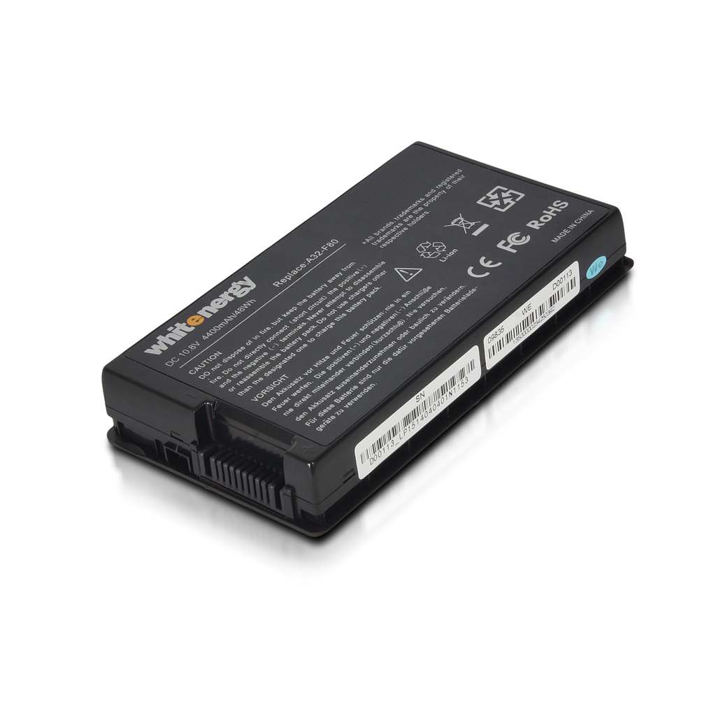WHITENERGY - WE baterie Asus A32-80/A/H 10.8V 4400mAh černá