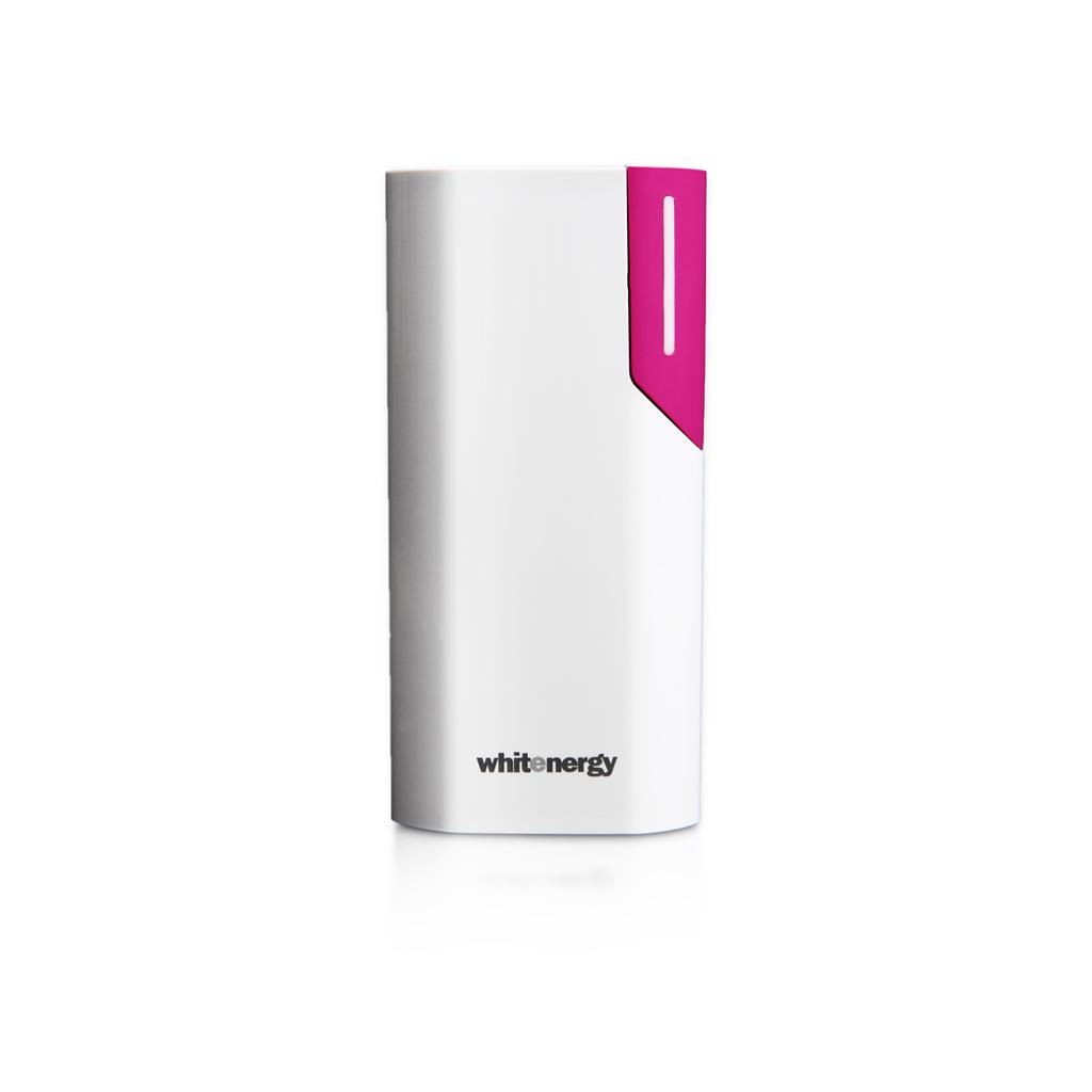 WE Power Bank 4000mAh 1A Li-Ion White/Pink