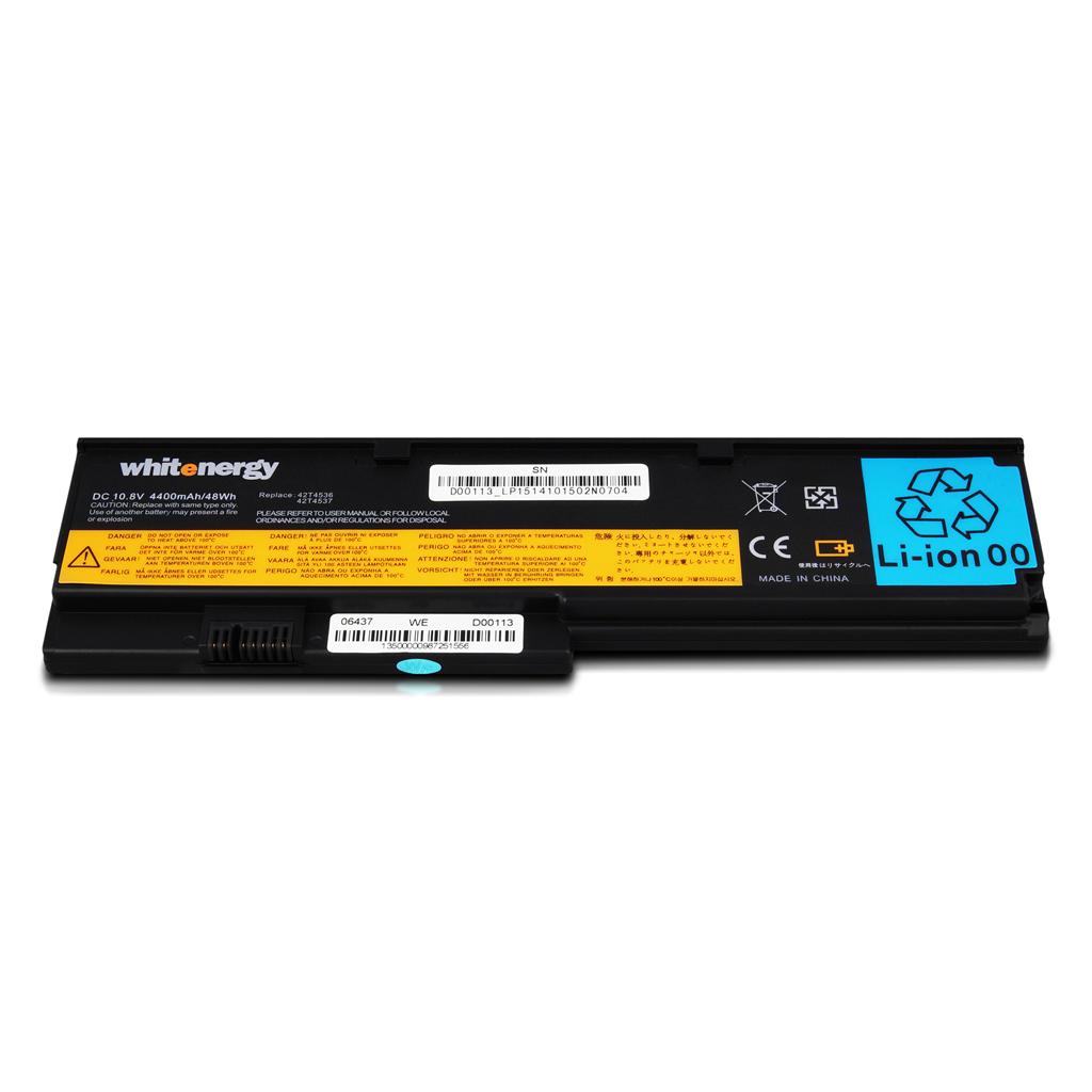 WE baterie pro Lenovo ThinkPad X200 10,8V 4400mAh