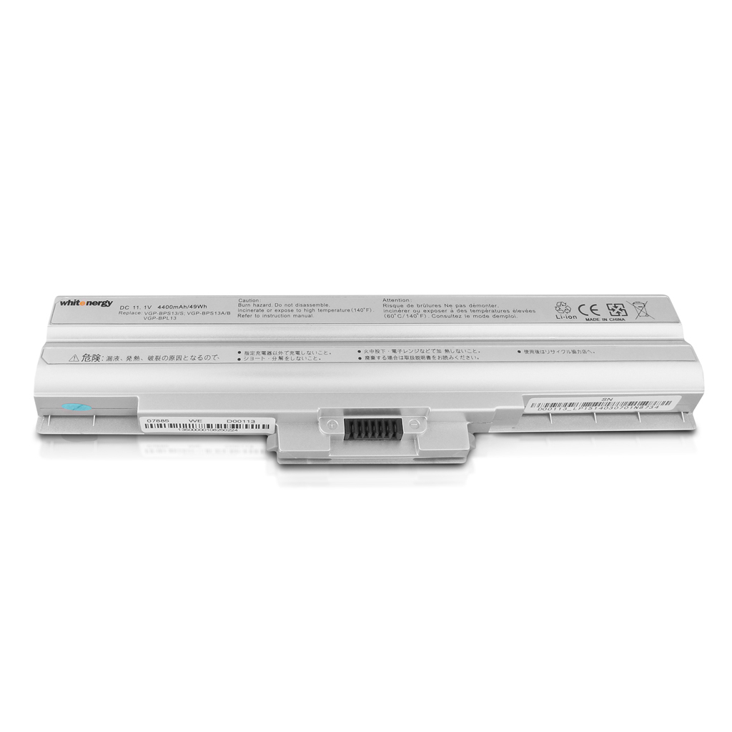 WE bat pro Sony BPS13/BPL13 11.1V 4400mAh stříbrná