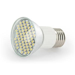 WE LED žárovka 60xSMD 3W E27 teplá bílá – refl - 5010