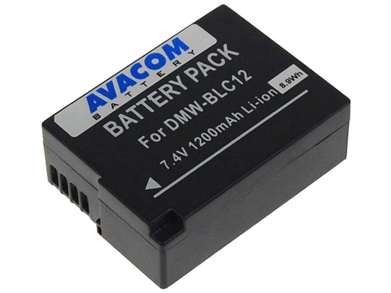Baterie AVACOM Panasonic DMW-BLC12 Li-ion 7.4V 120