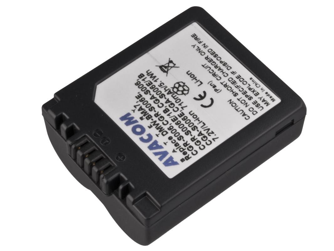 Baterie AVACOM Panasonic CGA-S006  Li-ion 7.2V - DIPA-S006-174