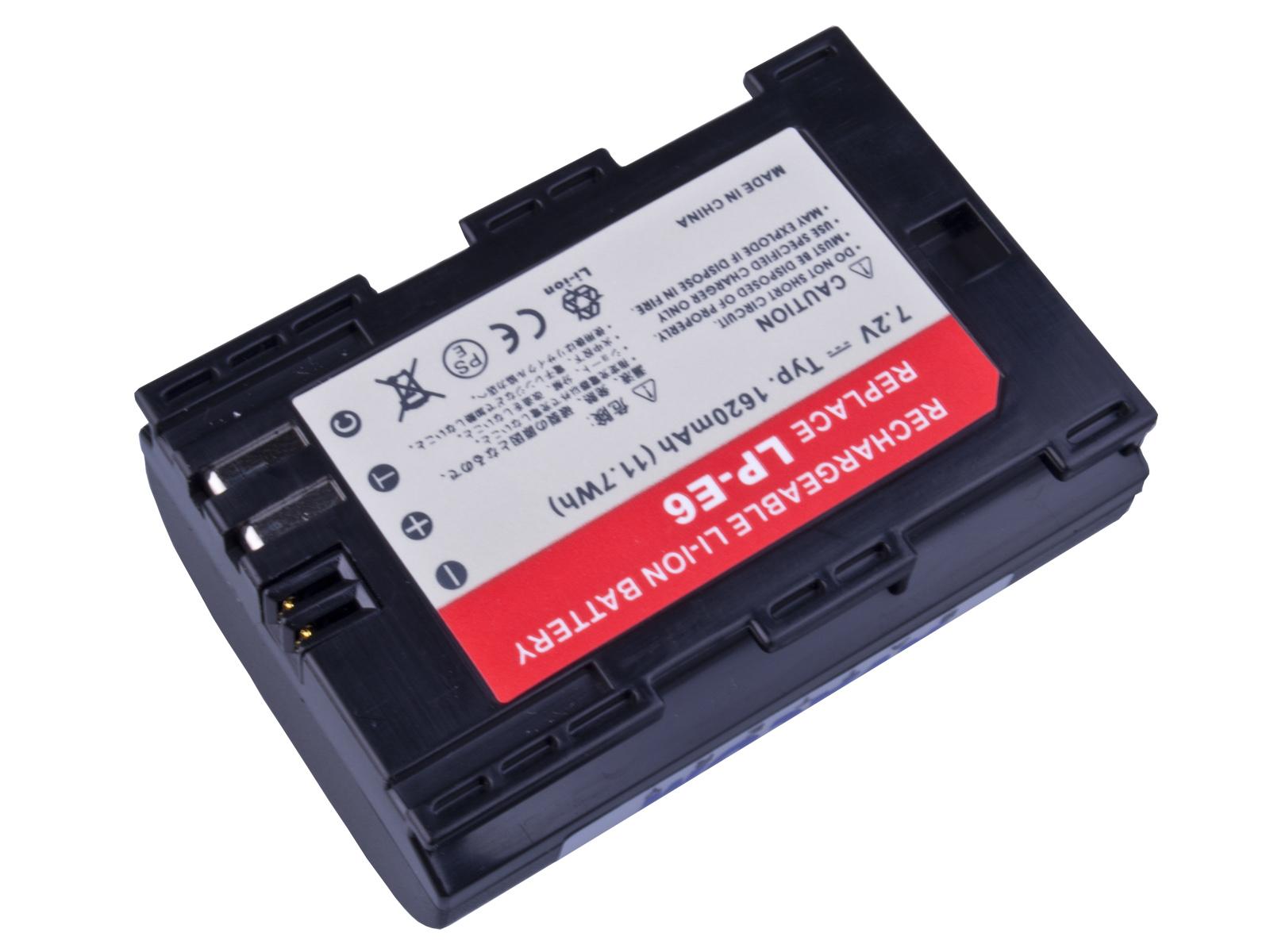Baterie AVACOM Canon LP-E6 Li-Ion 7.2V 1620mAh