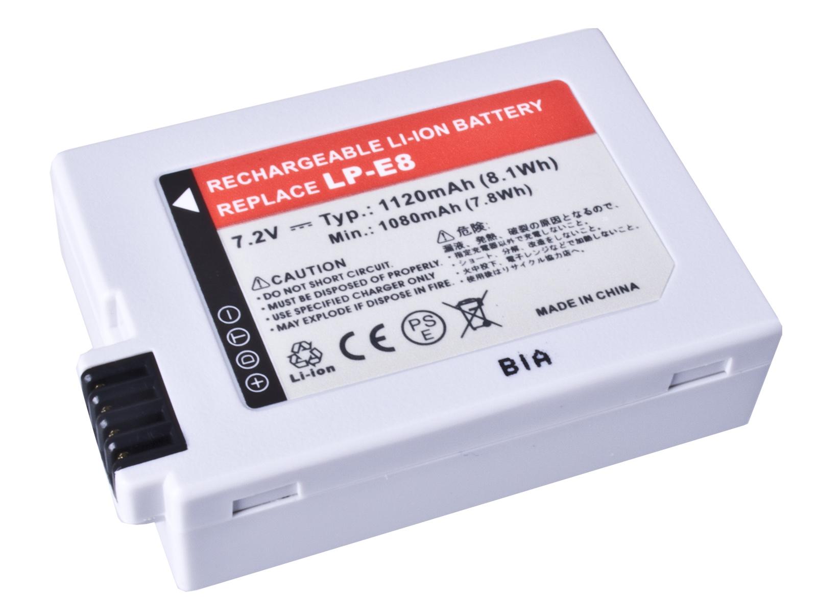 Baterie AVACOM Canon LP-E8 Li-Ion 7.2V 1120mAh