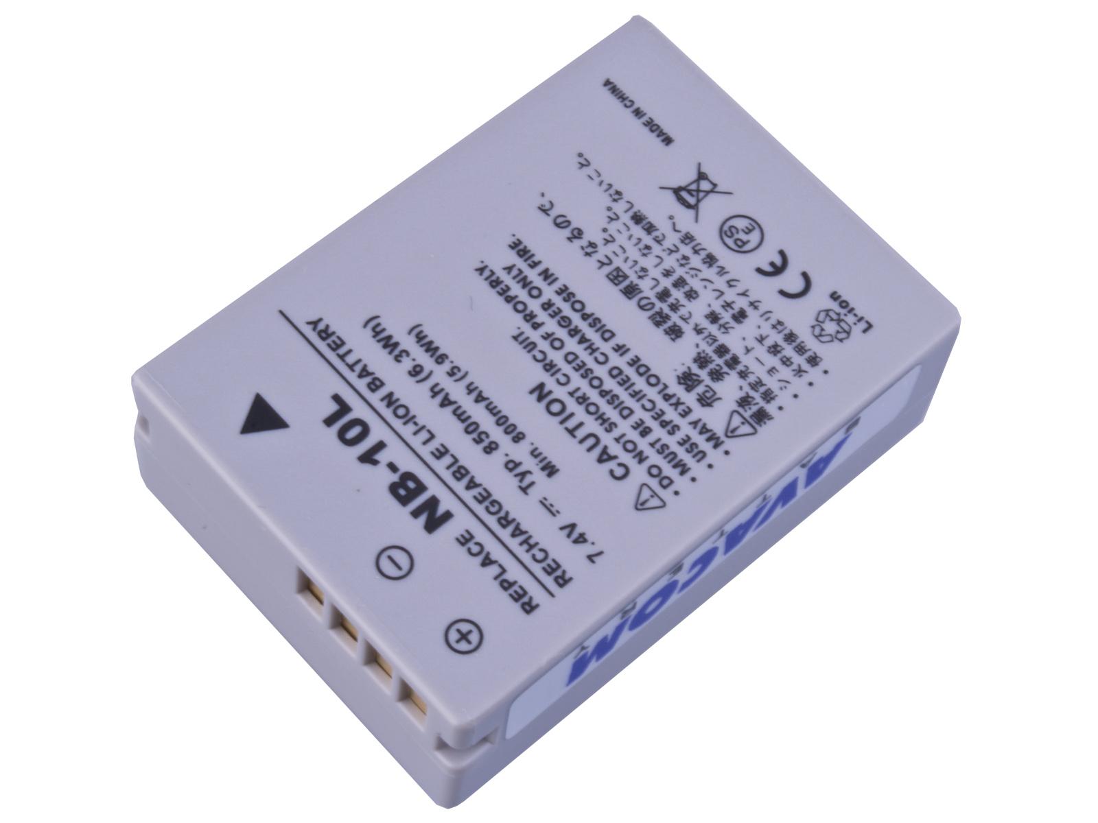 Baterie AVACOM Canon NB-10L Li-Ion 7.4V 850mAh