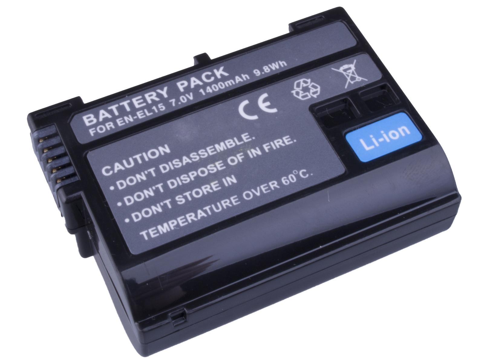Baterie AVACOM Nikon EN-EL15 Li-ion 7.2V 1400mAh