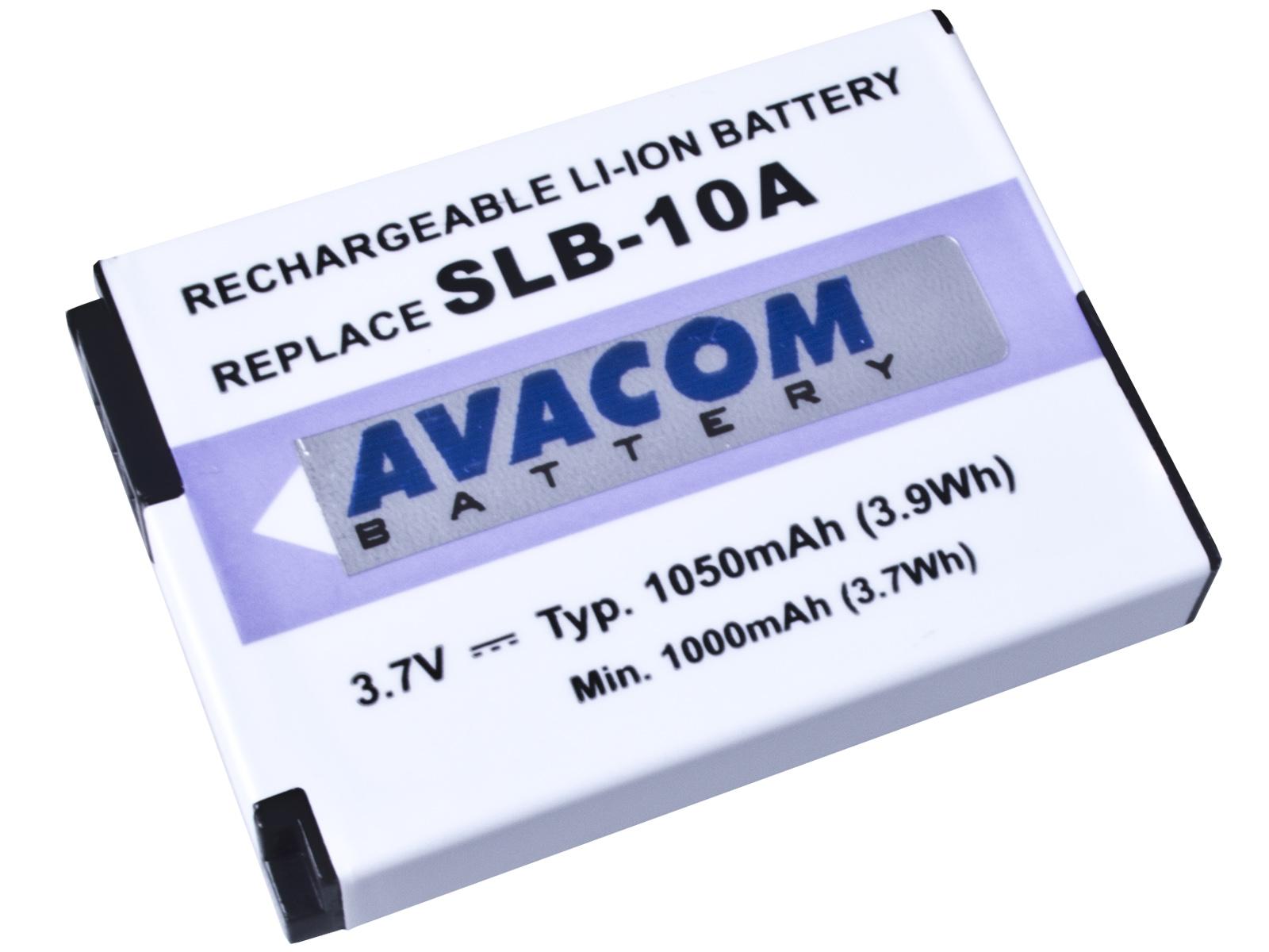 Baterie AVACOM Samsung SLB-10A Li-ion 3.7V 1050mAh