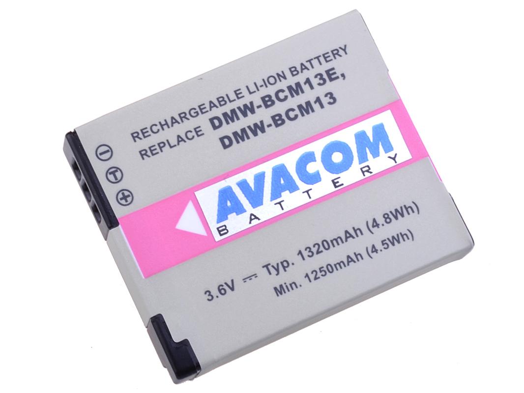 Baterie AVACOM Panasonic DMW-BCM13 Li-ion 3.6V 132