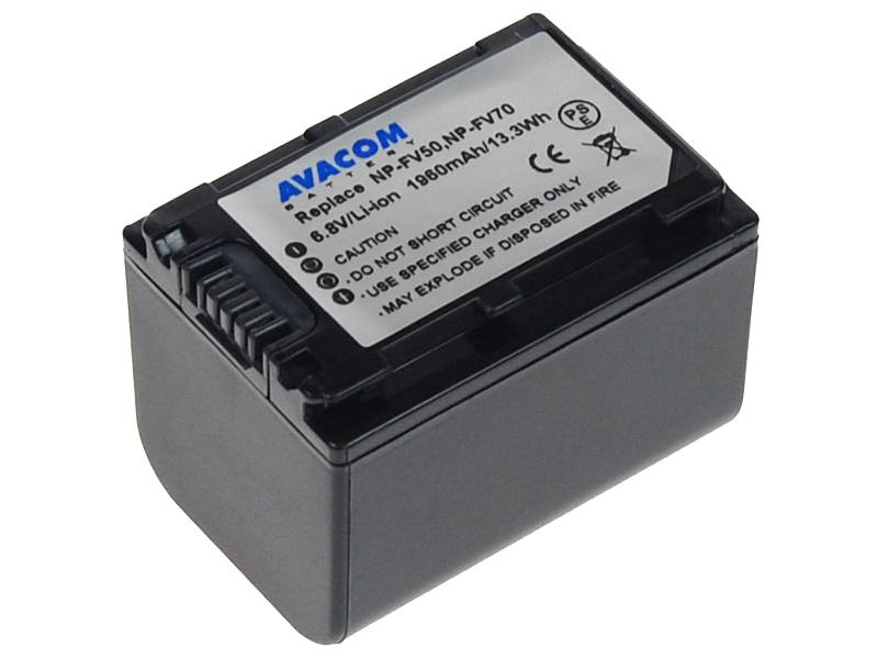 Baterie AVACOM Sony NP-FV70 Li-ion 6.8V 1960mAh - VISO-FV70-142N2