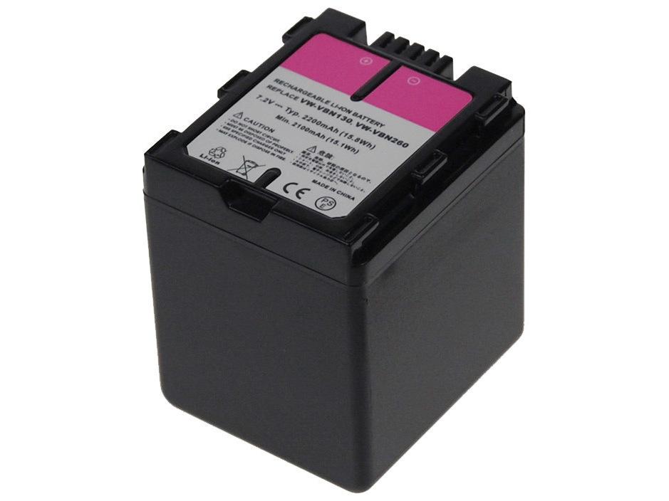 Baterie AVACOM Panasonic VW-VBN260 Li-ion 7.2V 220
