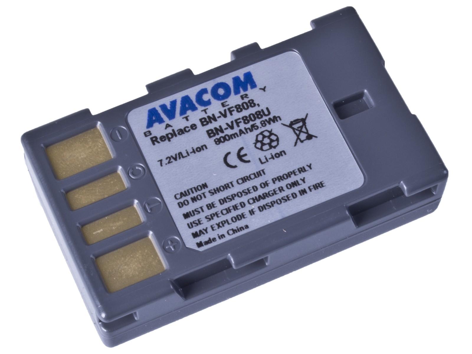 Baterie AVACOM JVC BN-VF808 Li-Ion 7.2V 800mAh