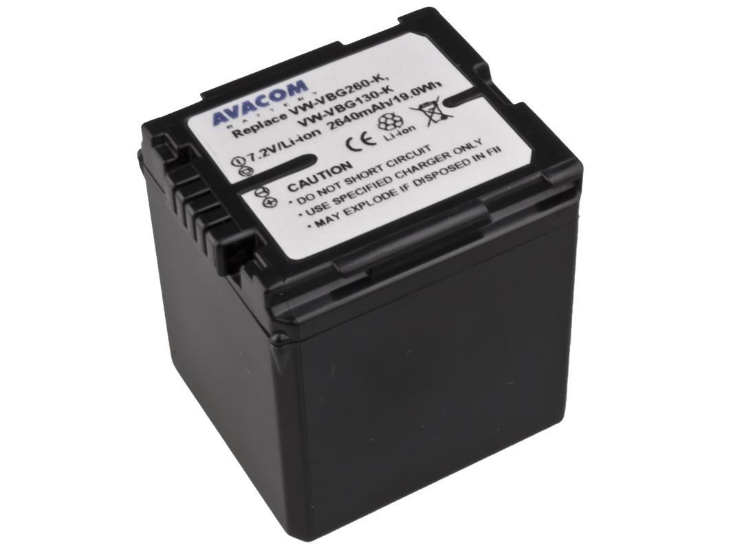 Baterie AVACOM Panasonic VW-VBG260 Li-ion 7.2V 264