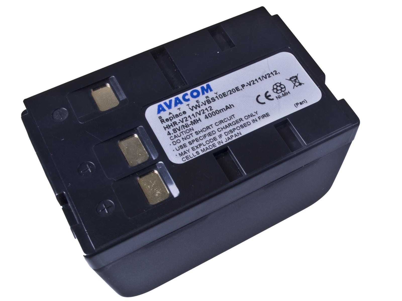 Baterie AVACOM Panasonic VW-VBS10E Ni-MH 4.8V 4000