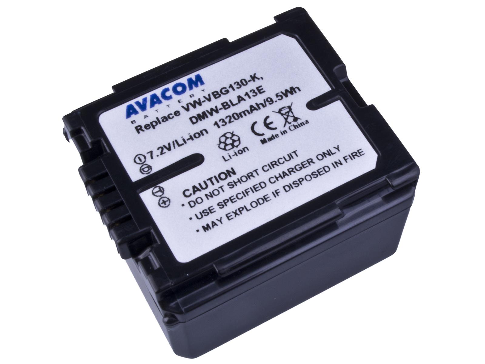 Baterie AVACOM Panasonic VW-VBG130 Li-ion 7.2V 132