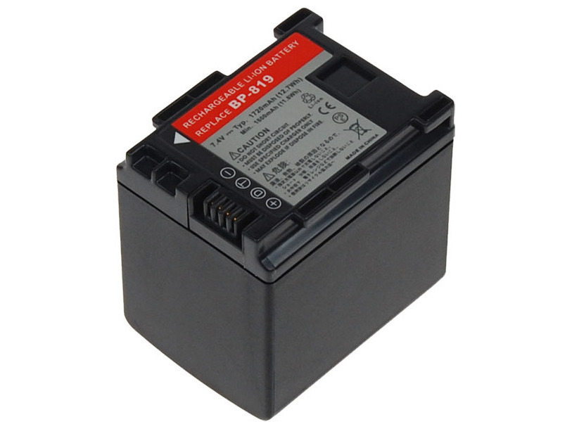 Baterie AVACOM Canon BP-819 Li-Ion 7.4V 1720mAh
