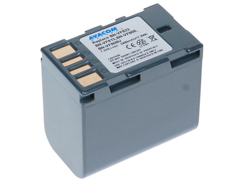 Baterie AVACOM JVC BN-VF823 Li-Ion 7.2V 2400mAh