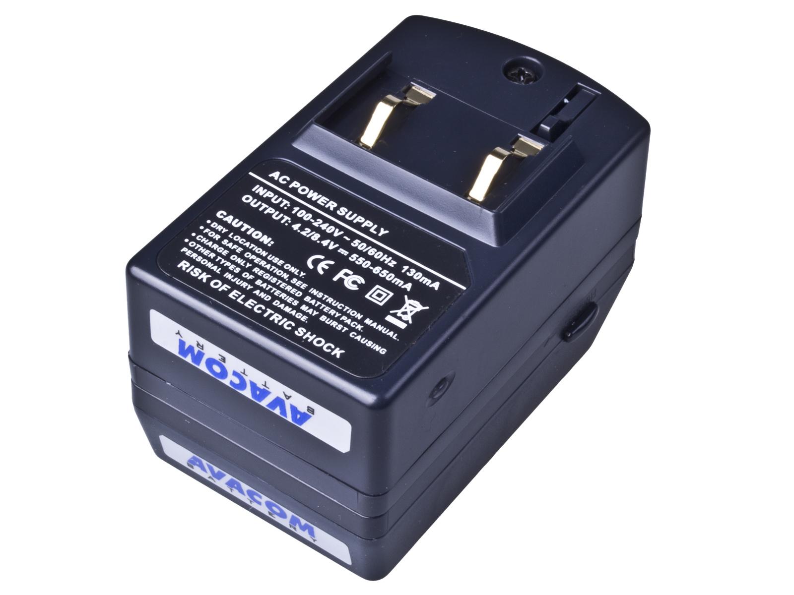 Nabíječka pro Li-ion akumulátor Sony serie info P